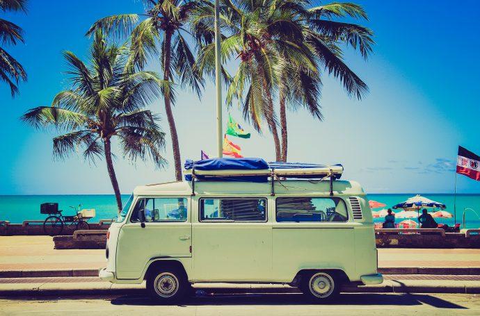 Bus à la plage