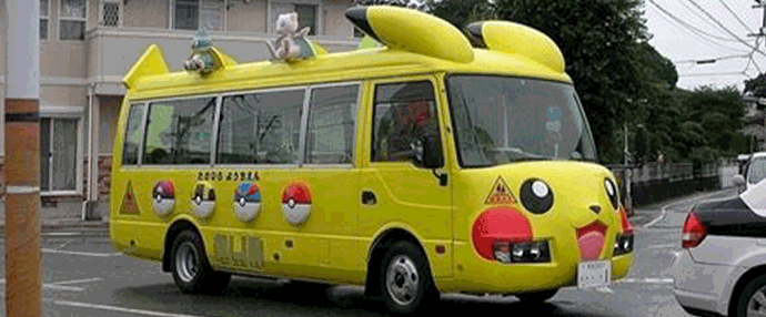 Bus pokemon