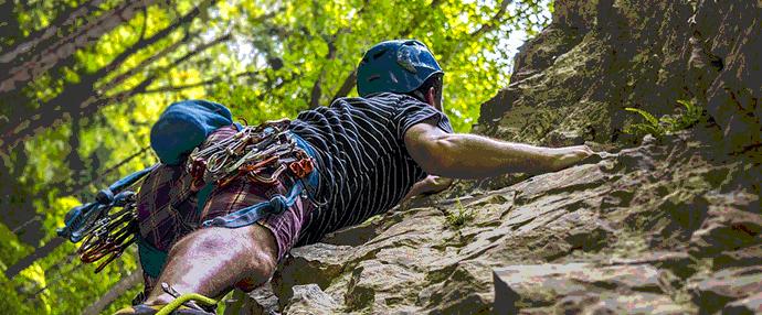 Escalader les rochers