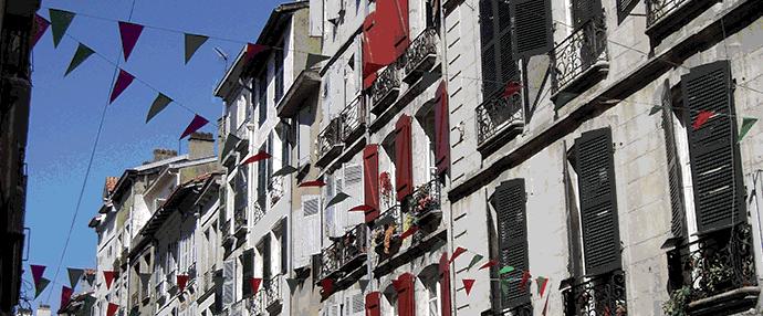 Immeubles de Bayonne